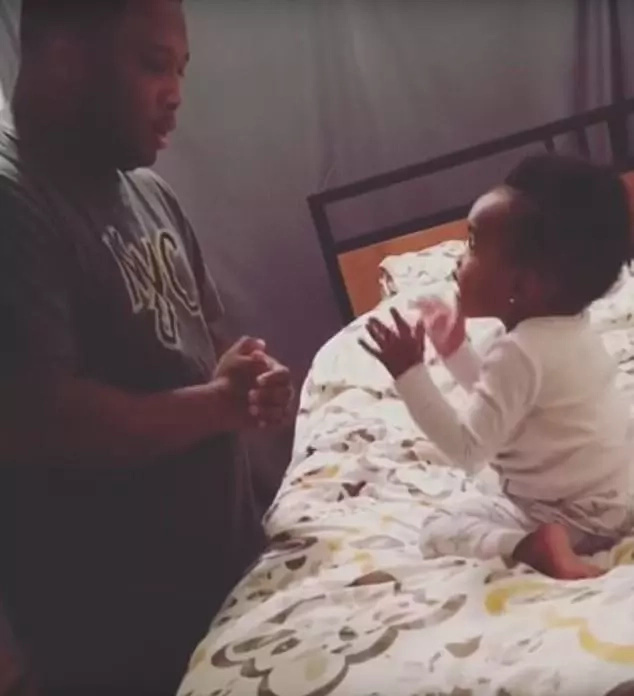 This video of cute toddler arguing with her dad over bedtime will make your day