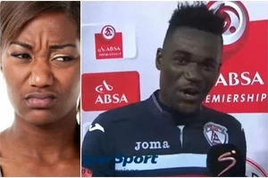 Footballer who accidentally thanked his wife and girlfriend in an interview gives the most HILARIOUS excuse