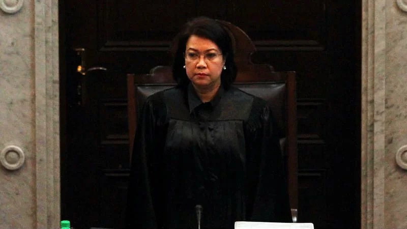 CJ Sereno slammed Sol Gen Calida's defense of Marcoses