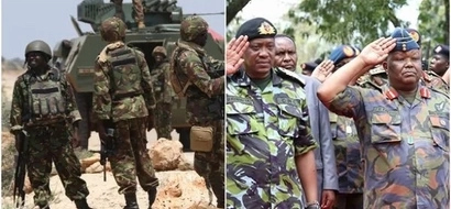 What Uhuru told KDF soldiers during his historic and suprise visit to Somalia