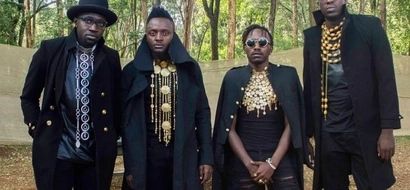 Sauti Sol's promise to Anne Kansiime after confessing her undying love for their music
