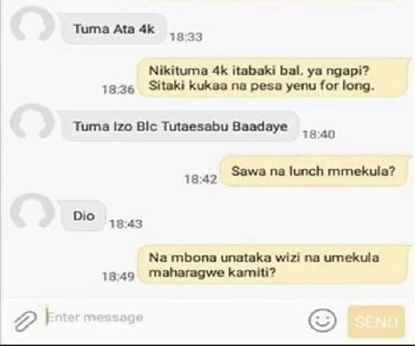 You will laugh to tears once you see how a Kenyan fooled an MPesa con through text message