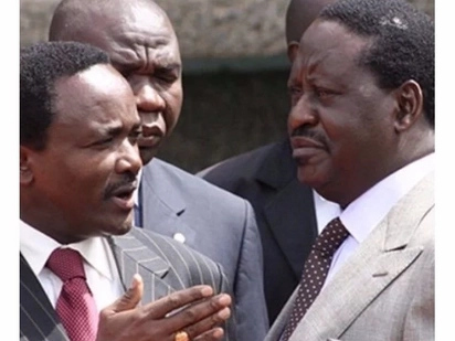 Raila ODM locks horns with Kalonzo's party on Twitter and it's fireworks