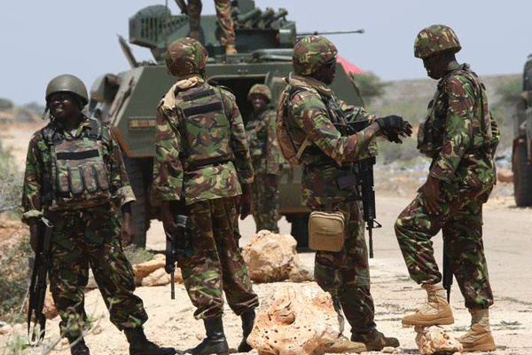 Alshabab killed 57 kenya soldiers at an army base in Somalia,