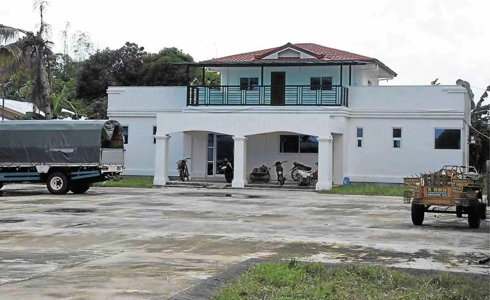 'White house' in Pangasinan is Dayan's sister's property