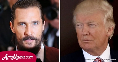 Matthew McConaughey expressed his real attitude to Donald Trump and many could disagree