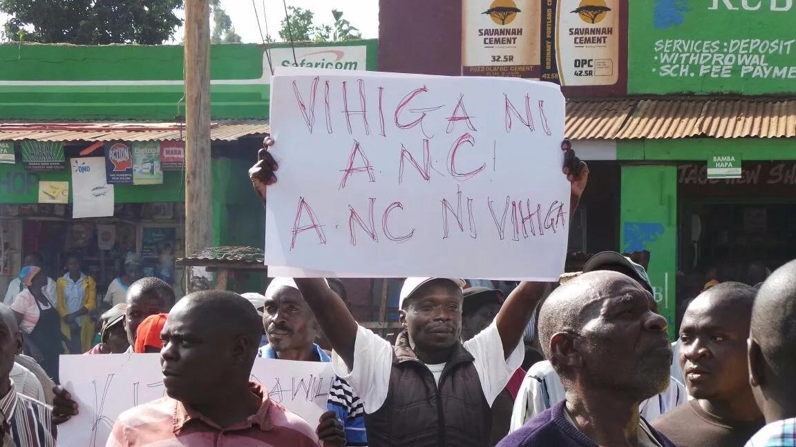 Musalia Mudavadi supporters stun Raila Odinga in Vihiga