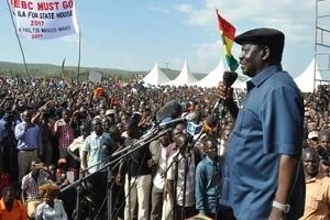 Kisumu politicians fail Raila as they leave for Tanzania