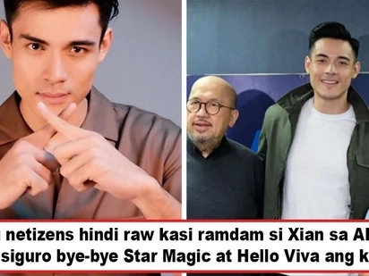 Tagasalo ang Viva ng mga nasa laocean deep? Xian Lim leaves Star Magic for Viva Agency and netizens draw one conclusion about Xi's move