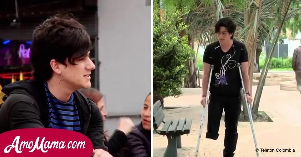 La vida de este joven campesino cambió el día que descubrió algo terrible en su pierna