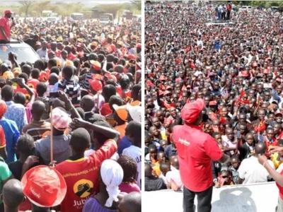 William Ruto akataliwa kwao