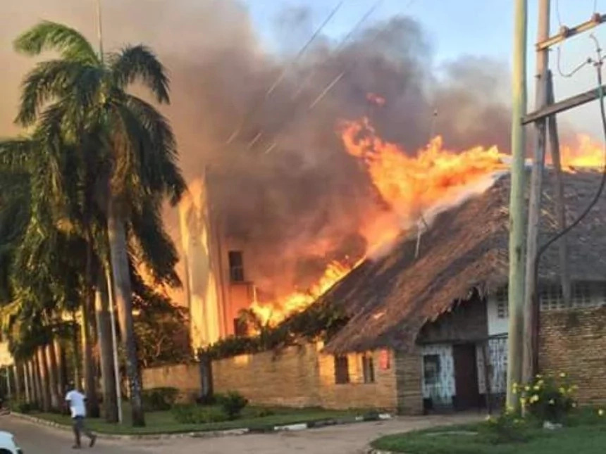 Neptune Hotel destroyed by deadly inferno