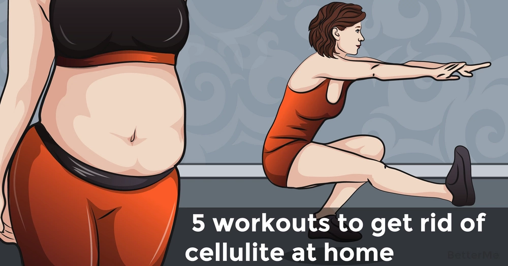 5 workouts to get rid of cellulite at home