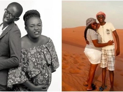 Njugush's wife and new-born son excite fans, step out for the first time after delivery