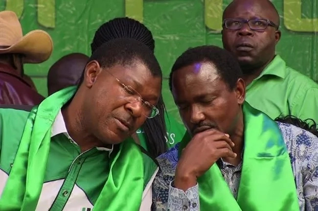 Kalonzo and Wetangula to punish rebel MPs and governors