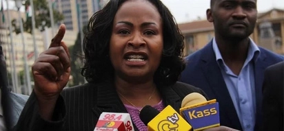 Wavinya Ndeti caught in another Yaliyondwele sipite moment, it's hilarious