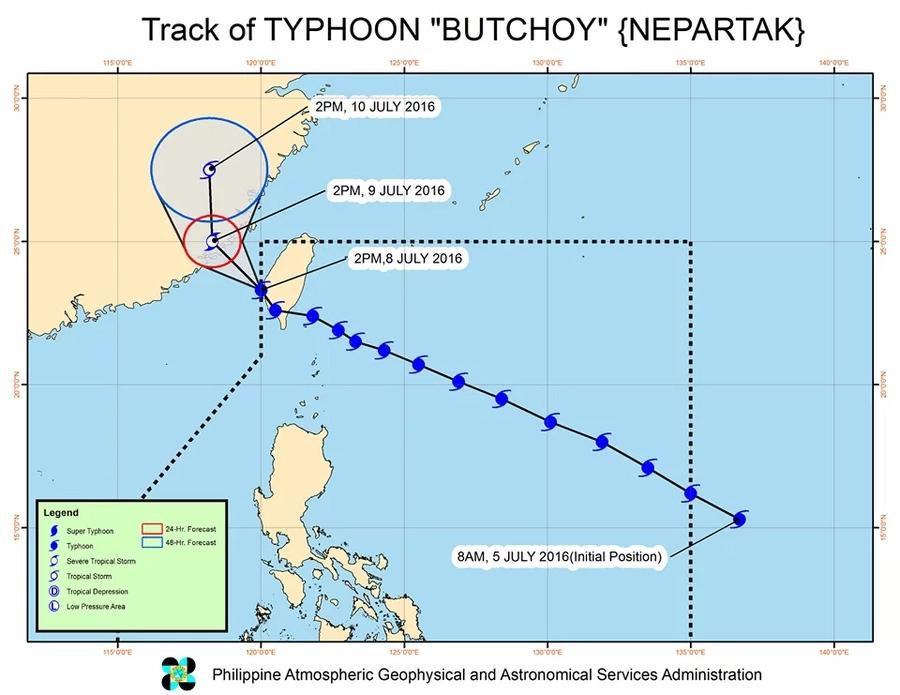 Butchoy exits PAR, still causes monsoon rain on Saturday
