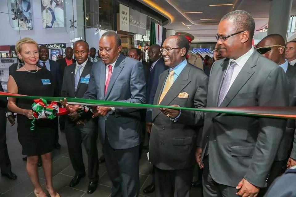 uhuru launches 2 rivers