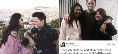 James Reid's mother defends Nadine and the sincerity of their relationship from bashers