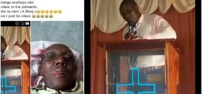 Pastor forced to give statement after kids see his BAD BEDROOM PHOTOS