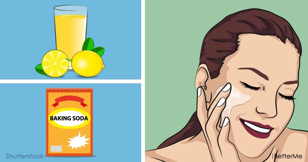 Surprising cosmetic benefits of baking soda and lemon juice
