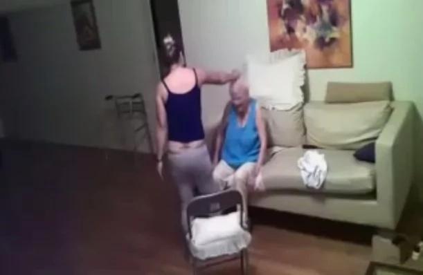 Mujer ve a cuidadora abusar de su abuela de 94 años de edad
