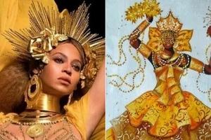 How Beyonce brought this Yoruba goddess to the 2017 Grammy's (photos)