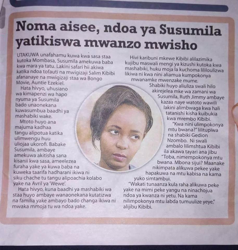 Ndoa ya mwanamuziki yavunjika, mkewe aitwa 'mvunja ndoa'