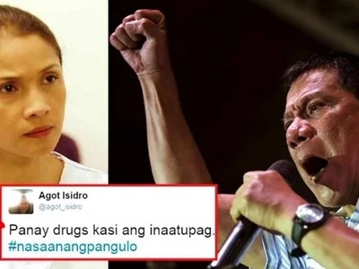 Nagbangayan na naman! Duterte supporters bash Agot Isidro after she once again criticized the President on social media!
