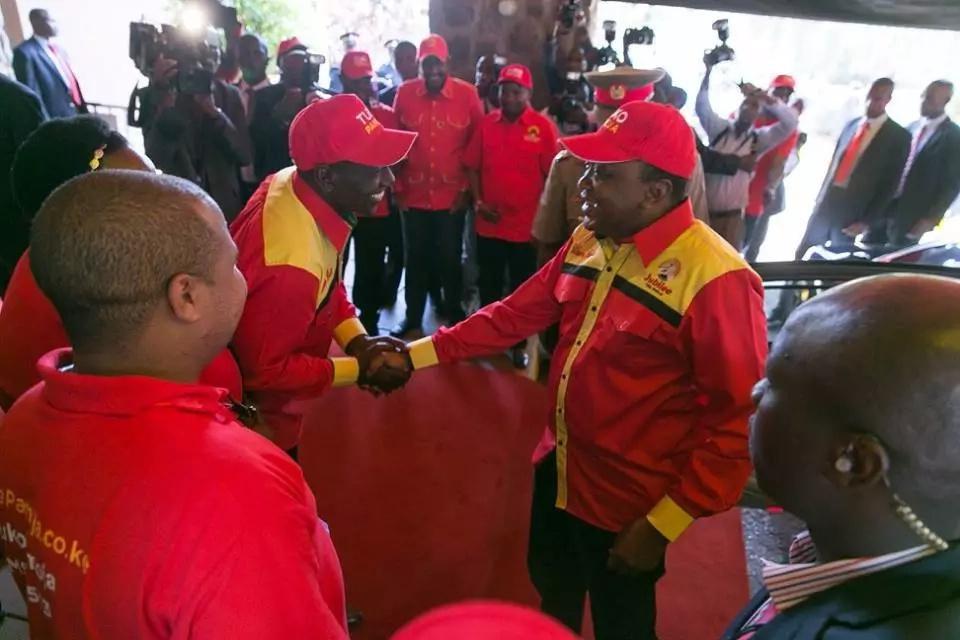 Uhuru hands Raphael Tuju a top Jubilee Party post