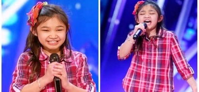 Talentado talaga! 9-year-old Pinay is a girl on fire after getting Golden Buzzer in 'America's Got Talent'