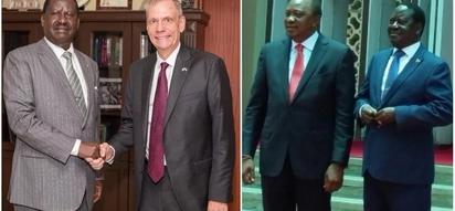 Ambassador Robert Godec meets Raila days after Harambee House peace deal