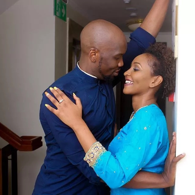 Top gospel music producer marries sweetheart in a colorful out of town wedding