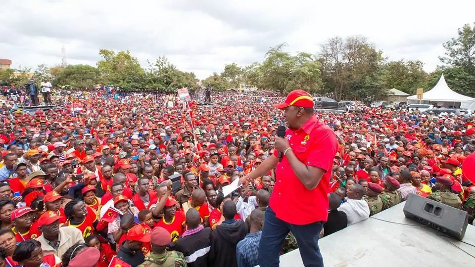 Police raid offices of Kenya opposition alliance ahead of elections