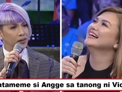 Di siya nakasagot kaagad! Vice Ganda asks a killer question to Angelica Panganiban which left her momentarily speechless