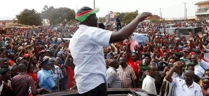 DP Ruto causes heavy traffic on Mombasa Road and Kenyans are not happy