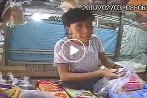 Find out why this old lady failed her modus at a wet market