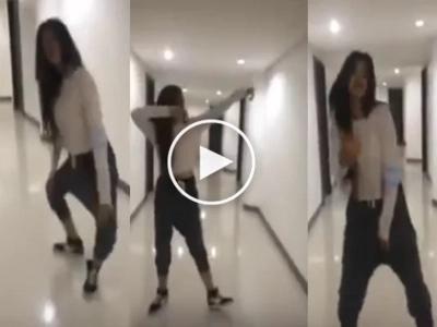 Gorgeous Pinay teen dancing in hotel blew up the Internet!