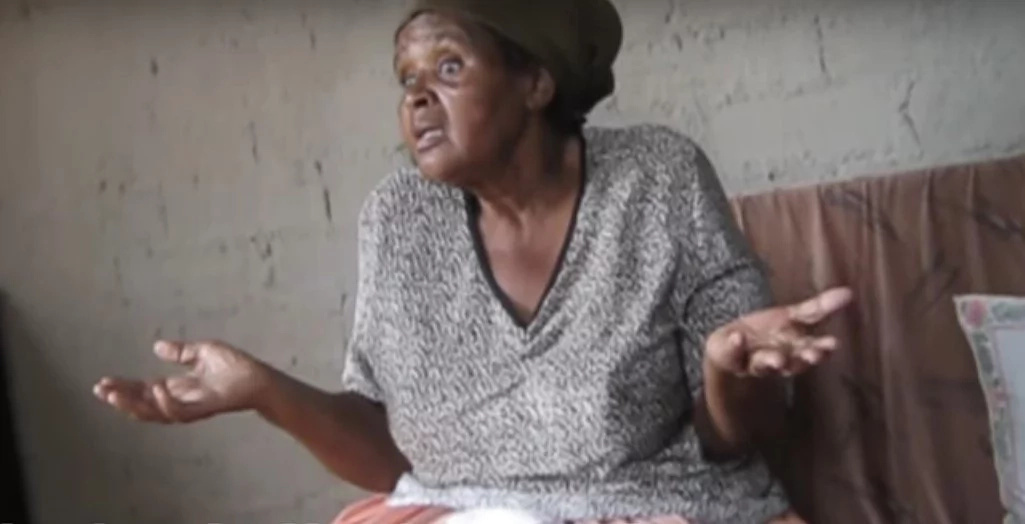Elderly woman UNDER SIEGE for six years by her alcoholic son (photos, video)