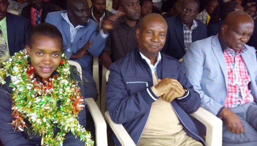 Faith Kipyegon's family receives gifts after plea to Uhuru Kenyatta