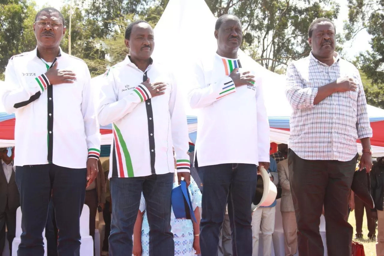 Raila Odinga rules out vying for the presidency again, to support Kalonzo