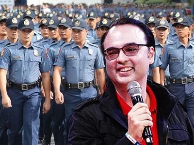 LOOK! Cayetano filed bill to increase police salary