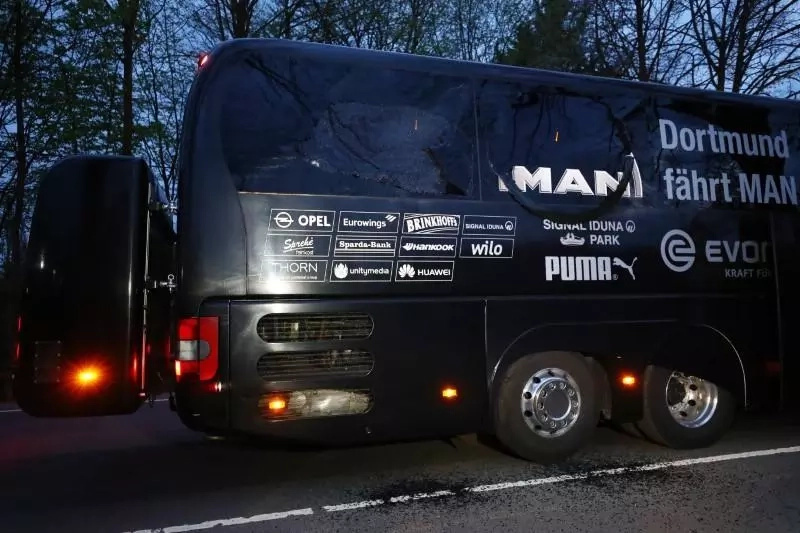 Breaking: UEFA Champions League Match abandoned after team bus explosions, details