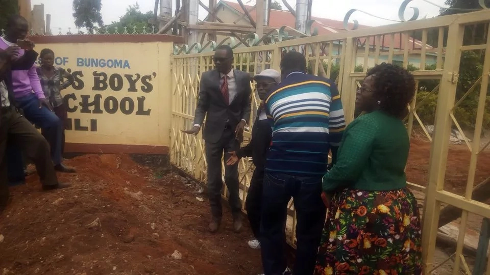 Jubilee MP locks school gate after Matiang'i transferred school principals