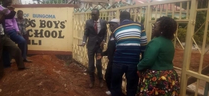 Jubilee MP and MCAs block school gate after principal was transferred
