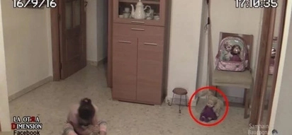 Demon Doll Blinks, Nods Head And Shakes Room Terrifying A Little Girl