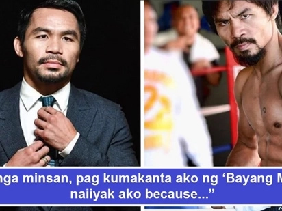 Makabayan pero di alam Lupang Hinirang? Sen. Manny Pacquiao roasted by netizens after erroneously stating title of PH's national anthem