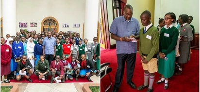 Inside Uhuru's prestigious office that prove the presidency must be the best thing ever (PHOTOS)