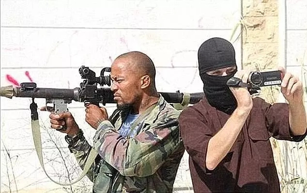 Cuspert (left) is known as a particularly brutal terrorist