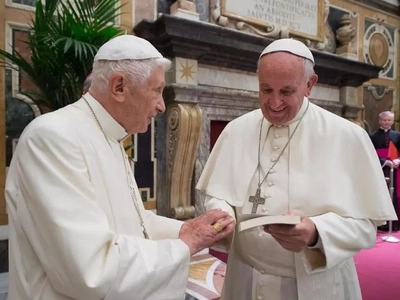 You give me and the Church so much strength: Pope Francis to retired Pope Benedict XVI